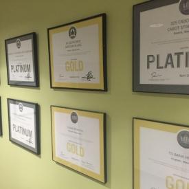 LEED certificates