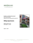Photo of resilience and solar assessment document