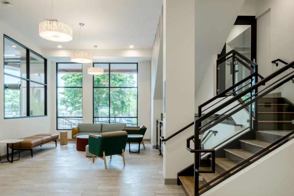 Finch Cambridge interior (lobby)